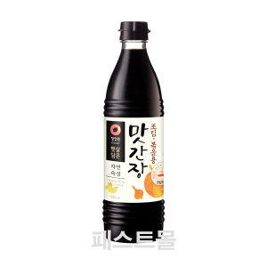 [청정원] 청정원 맛간장소스 조림볶음용 840ml