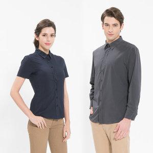 앞간단인쇄무료 서빙 블라우스 셔츠 유니폼 식당 카페