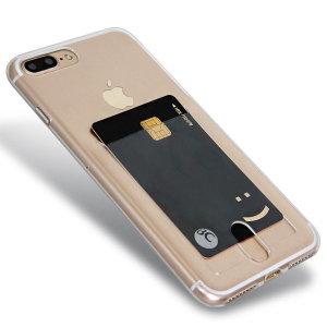 포켓 투명젤리케이스 아이폰7플러스 핸드폰케이스 폰