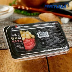 파인튜나 참치 락교+초생강 60g