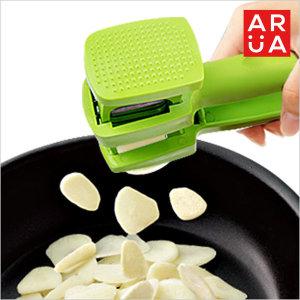 마늘슬라이서 주방용품 마늘 다지기 세절기 슬라이스