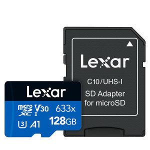 [렉사] 정품 MicroSD카드 633배속 128GB 핸드폰 메모리카드