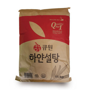 큐원 하얀설탕15kg/갈색설탕/매실청/오미자/특가