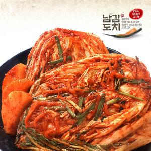 남도김치 100% 국내산 생포기김치 10kg +겉절이1kg증정