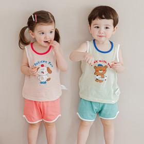 [Cordi-i] Kids` loungewear collection / pajama / t-shirt / shorts / pants / half sleeve / printed /