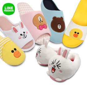 cc83379126f5 0 Add to cart. International Shipping Product Info in English. Cute LINE  FRIENDS indoor shoes indoor slippers