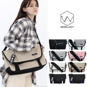[Magellan] Men`s messenger bag collection / crossbody strap / buckle / mesh pocket /