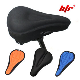Bicycle seat n seat cover / cushioned / anti-slip / shock-absorbing /