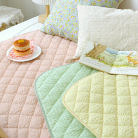 [PRIELLE] Quilted mattress topper / waterproof / for kids / patterned / cotton /
