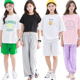 [ILINE] Kids' apparel collection / dress / leggings / T-shirt / sweatshirt / hoodie + pants /