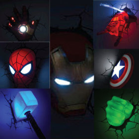 Gmarket marvel the avengers 3d wall art nightlight iron man sp gmarket marvel the avengers 3d wall art nightlight iron man sp aloadofball Image collections