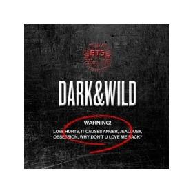 BTS防弹少年团正规1辑DARK & WILD