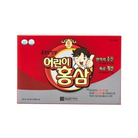 [CHONGKUNDANG] Kids red ginseng / 3 cartons / red ginseng concentrate / nutritious /