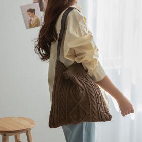 handmade bag handle scarf