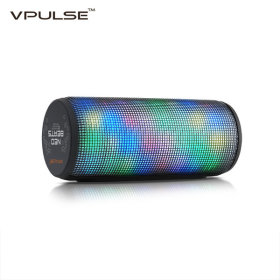 VPULSE Neo-beats bluetooth speaker / LED equalizer / long lasting battery /