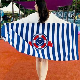 Beach towel collection / arm insertable beach towel / 1500mmX700mm/800nn / 1800mmX1000mm /