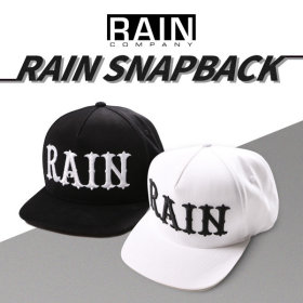 [RAIN COMPANY] Rain snapback / embroidered / size adjustable /