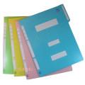 A4 칼라 정부화일 황화일 1묶음 (10개) 파일