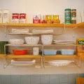 아이디어 주방정리용품/식기건조대 주방선반 수납장