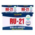 RU21 6정x 12갑 72정 1일비타민C60mg 알유21 비타민씨
