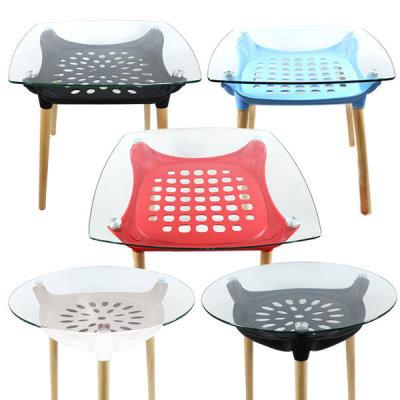G마켓 - 로엠가구 유리원형 티테이블 식탁