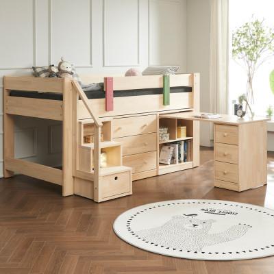 G마켓 - 특가세일~소나무벙커침대세트/침대+3단서랍+책상+계단