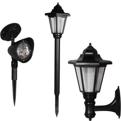 G마켓 - 태양열 LED 정원등/야외조명등 자동충전 벽등가로등