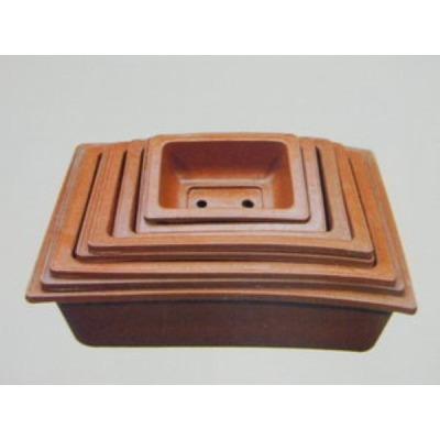 G마켓 - 사각 고무 화분 분재 텃밭 옥상 채소 재배 나무 용토