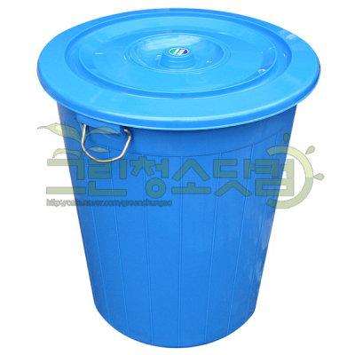 G마켓 - 대형용기 55L 대형양동이 쓰레기통 식당 파란용기