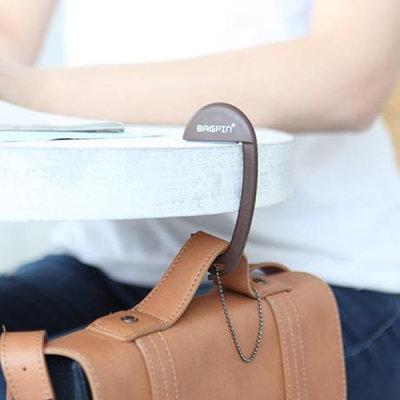 G마켓 - 휴대용가방걸이 BAGPIN 테이블가방걸이 책상가방걸이