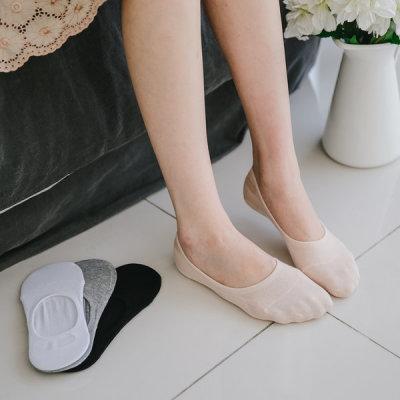 실리콘 두꺼운 페이크삭스 발목양말/덧신/여름용양말 상품이미지