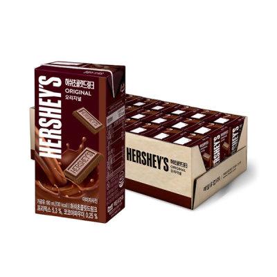 매일 허쉬드링크190ml x 24팩/우유/초콜릿/박스포장 상품이미지