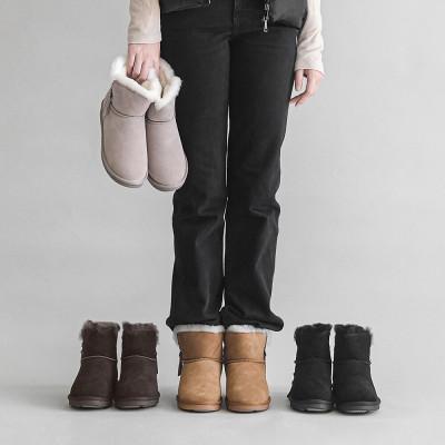 Ollie Winter Women Fur Boots Non-slip Elevator Shoes