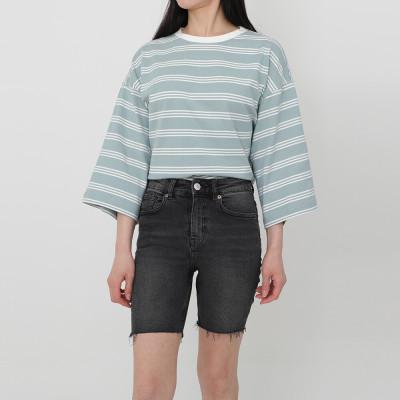 MOCCASOM/T-Shirts/Dresses/1+1/Loose Fit