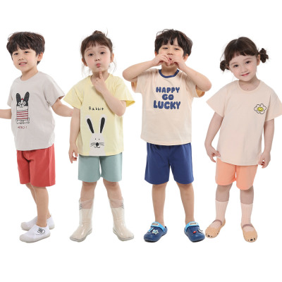 (KiDS COMO) KRW 3900 flat price/summer sale/summer top and bottom set/kids` clothes