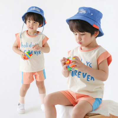 (KiDS COMO) Set 6900/fall new arrivals/kids clothes/clothes for going to kindergarten