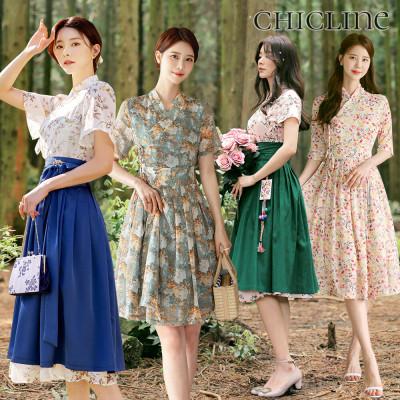 [CHICLINE] Fall New Arrivals/Modernized Hanbok/Skirt/Dress