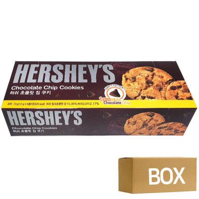 허쉬 초콜릿칩 쿠키 72g 12곽 1박스