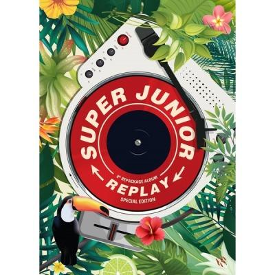 (Kihno album) Super Junior - 8th Repackage Album (Replay) Kihno