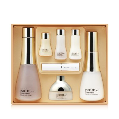 sum37 Time Energy 2-item special set and skin care set collection/GB
