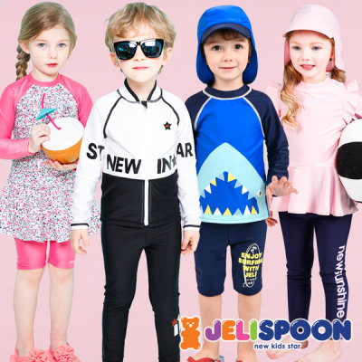 Kids swimsuits/INFANT RASH GUARD/Girls Swimwear/Boys Swimwear