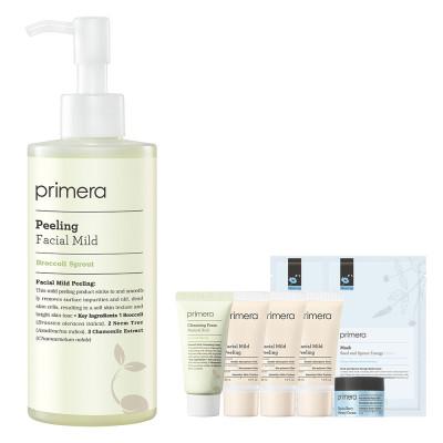 primera Cleansing up to 1+1 Benefits Peeling Gel Cream Set