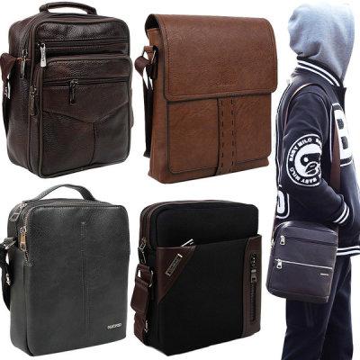 Cowhide/Cross/Casual/Men s Bag/Back