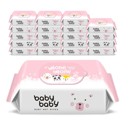 wet wipes / wet tissue / moistened tissues / baby wipes / babybaby wet wipes