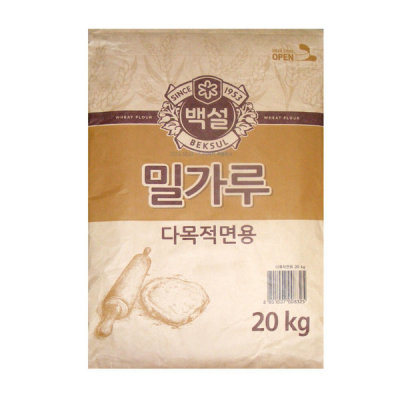Daehan Flour/CJ BEKSUL Plain Flour/strong flour/multi-use 20kg