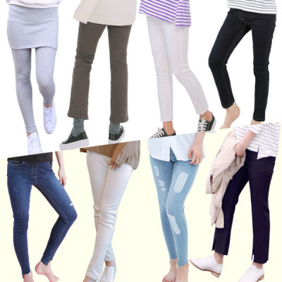 Maternity Clothes/LEGINGS FOR PREGNANT/PREGNANT PANTS/Cotton Pants/Jeans/Seamless