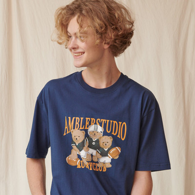 AMBLER Unisex oversized premium T-shirt