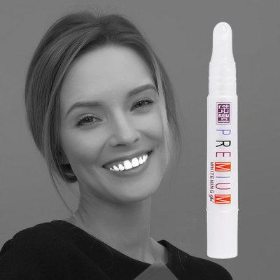 Whitening discolored teeth Premium Whitening Gel whitening agent