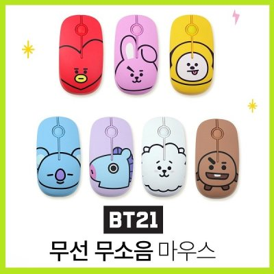 [ROYCHE] BT21 wireless mouse UNIVERSTAR Original