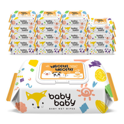 Babybaby/Baby Wet Wipes/Refill Type